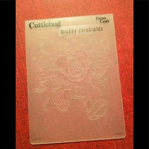 New Mickey Mouse Embossing Folder